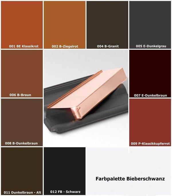briel windschutz ortgang bieberschwanz ziegel 4 12 cm in l nge 20 oder 37 cm haus dach metall. Black Bedroom Furniture Sets. Home Design Ideas